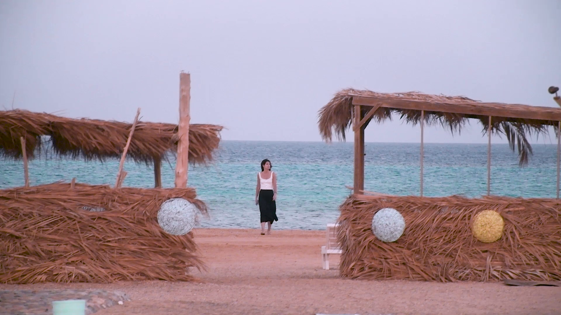 Girl in the egyptian red sea, marsa alam